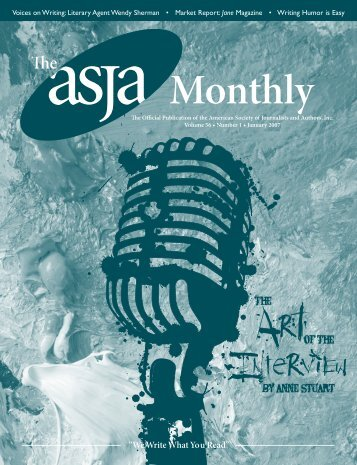 January 2007 - The ASJA Monthly