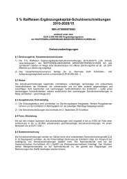 5 % Raiff. EK-SV 2010-2020_B076583_Bedingungen - Raiffeisen