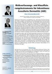rungsinstrumente für Inkontinenz Assoziierte Dermatitis (IAD)