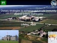 Dietary strategies to enhance gut innate immunity against enteric ...