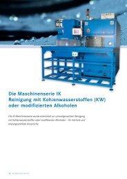 KW-Lösemittelanlagen IK20 - 400 - Wehrle & Weber