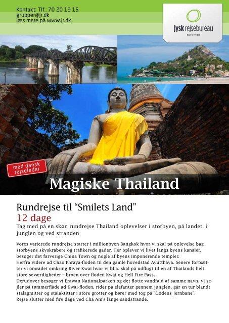 Magiske Thailand - Jysk Rejsebureau