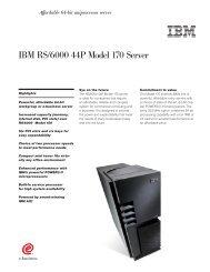 IBM RS/6000 44P Model 170 Server