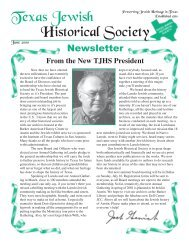 2000 June - Texas Jewish Historical Society