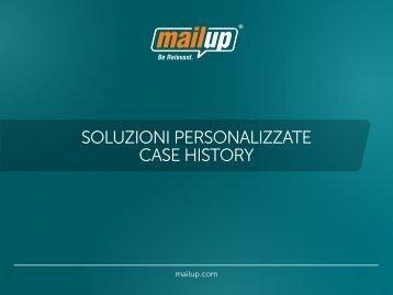 esempi di soluzioni personalizzate - MailUp