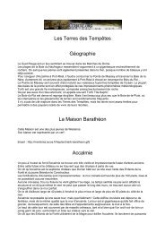 Les Terres des Tempêtes - Cerbere.org