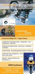 Motorradverleih - Kaufmann
