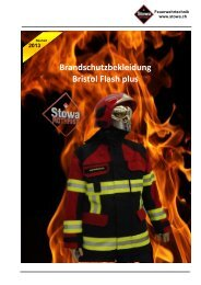 29.04.2013 NEU Brandschutzbekleidung Bristol Flash PLUS mehr