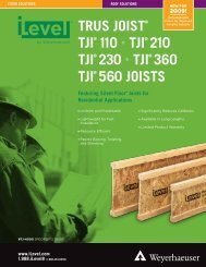 TJI 110, 210, 230, 360, and 560 Joist Specifier's Guide
