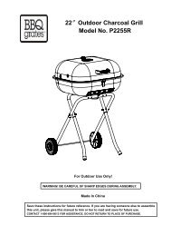 Outdoor LP Gas Barbecue Grill - Big Lots