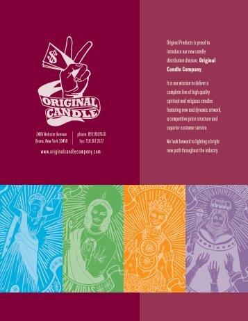 Religious & Spiritual Candle Program - Original Candle Company