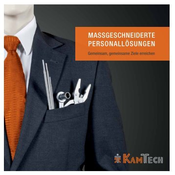 Kamtech-Image-Broschüre
