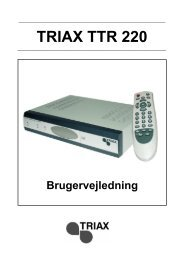 TRIAX TTR 220