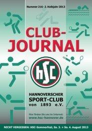 Clubjournal 07/2013 - HSC