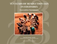 TEN YEARS OF RESOLUTION 1325 IN COLOMBIA - Fokus