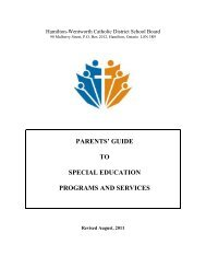 Parents' Guide to Special Education Programs and Services