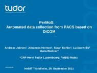 PerMoS: Automated data collection from PACS based on DICOM