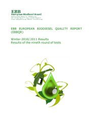 Winter 2010/2011 - European Biodiesel Board