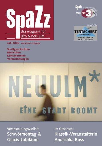 SPAZZ-Juli-05.indd - KSM Verlag