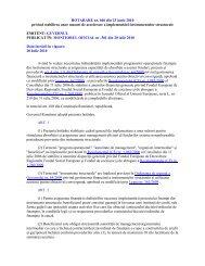 HOTARARE nr. 606 din 23 iunie 2010 - Fonduri Europene ...