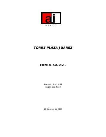 Torre Plaza Juárez - Academia de Ingeniería