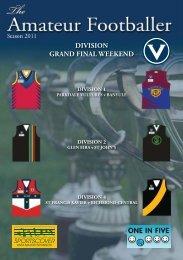 10/11 September - Victorian Amateur Football Association