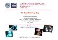 XX BrainStorming Day - Phd.dees.unict.it - Università degli Studi di ...