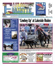 April 7 - East County Gazette