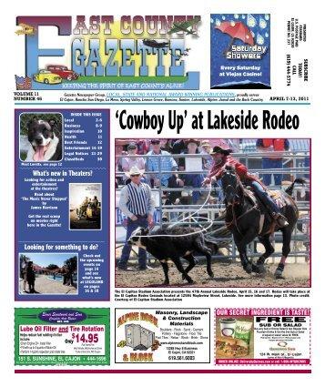 April 7 - East County Gazette
