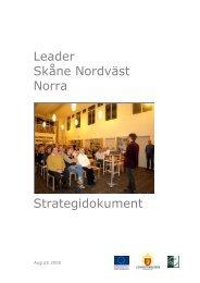 Leader strategi Skåne nordväst Norra - Helsingborgs stad