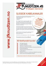 Til Kampanjen - Sivilingeniør JF Knudtzen AS