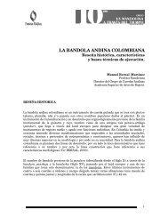 la bandola andina colombiana - La guitarra y los instrumentos de ...