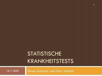 Statistische Krankheitstests