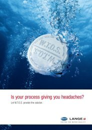 Is your process giving you headaches? - HACH LANGE