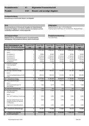 Allgemeine Finanzwirtschaft Steuern und sonstige Abgaben 6101 ...