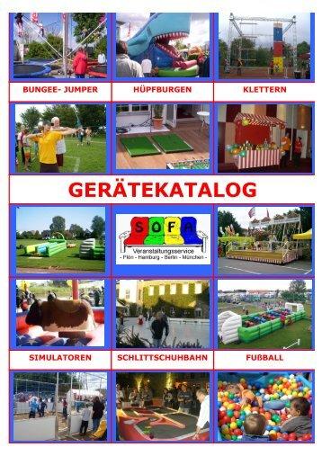 Katalog Frühjahr 2008 - SOFA