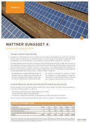 WATTNER SUNASSET 4 - INFOS GmbH