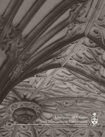 UTAM Annual Report 2006 - University of Toronto