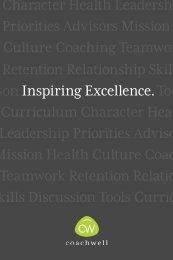 Character Health Leadership Priorities Advisors ... - Coachwell