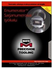 Enumerator Sarjanumeroiva työkalu - CLE group
