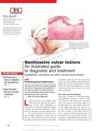 Noninvasive vulvar lesions An illustrated guide to ... - Urogyn.org