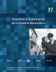 Coyuntura EConómiCa - Buenos Aires Ciudad