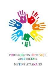 PRS ataskaita 2012 LT - Migracijos departamentas