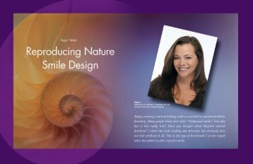 Today, creating a natural looking smile is essential in cosmetic ...