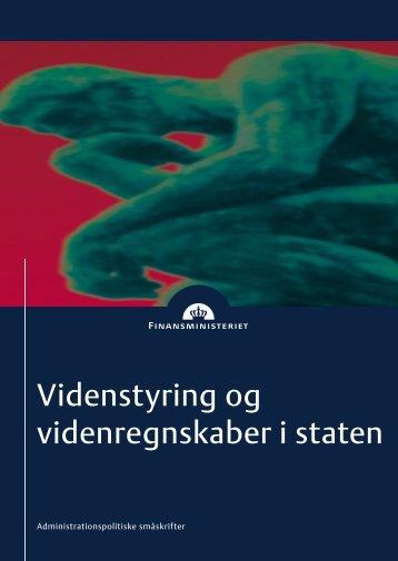 Videnstyring og videnregnskaber i staten - It.civil.aau.dk