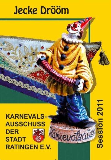 Tel. 0 21 02 / 86 68 - Karnevalsausschuss der Stadt Ratingen eV