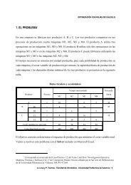 1. EL PROBLEMA1 - Universidad Politécnica de Valencia
