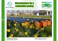 infrastructure for a renewable society