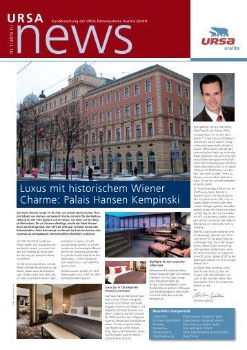 URSA NEWS 1/2013
