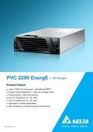 PVC 2200 EnergE - DELTA Power Solutions